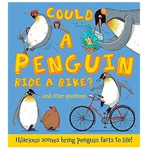 """🌈3/$20~Hardcover Book """"Could a Penguin Ride a..."""""""